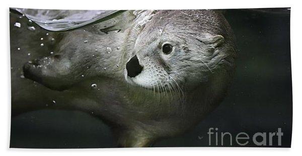 I Otter Be Swimming Bath Towel