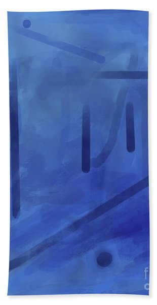 In The Blue Mist Hand Towel