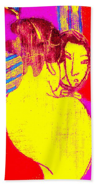 Japanese Pop Art Print 1 Bath Towel