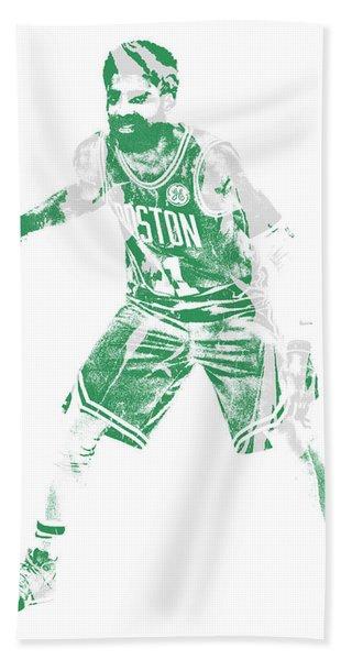 Kyrie Irving Boston Celtics Pixel Art 72 Hand Towel