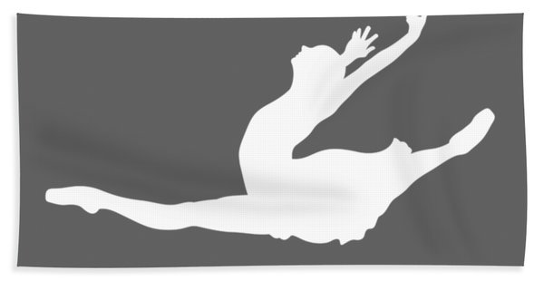 Life Is Simple Eat Sleep And Ballet T-shirt Hand Towel