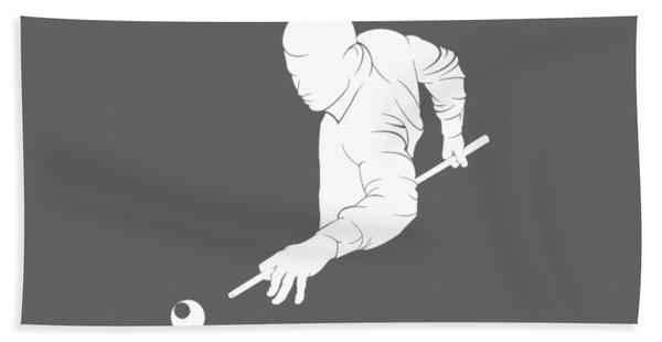 Life Is Simple Eat Sleep And Billiard T-shirt Hand Towel
