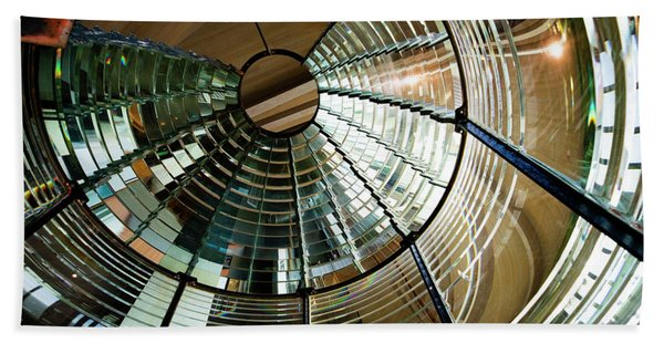 Lighthouse Lens Interior Lewis Hand Towel