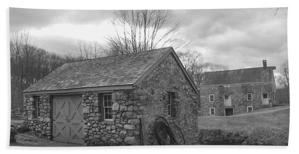 Lock House And Store - Waterloo Village Hand Towel