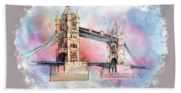 London Bridge Bath Towel