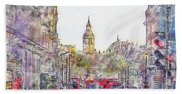 London Street 1 Bath Towel