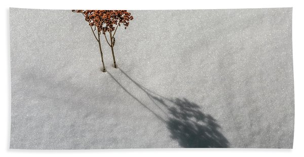 Long Shadow Of Winter Hand Towel