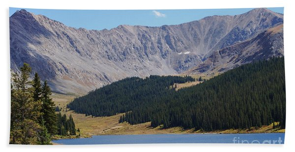 Longs Peak Colorado Bath Towel