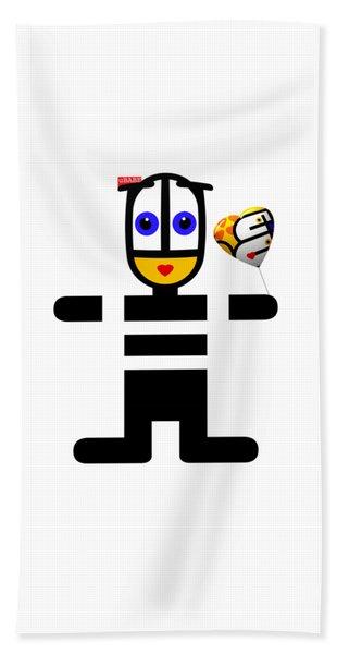 Love Ubabe Bath Towel