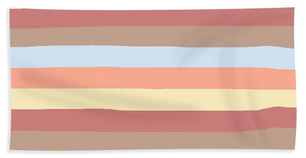 lumpy or bumpy lines abstract - QAB281 Bath Towel