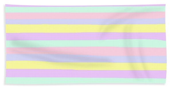 lumpy or bumpy lines abstract - QAB283 Bath Towel