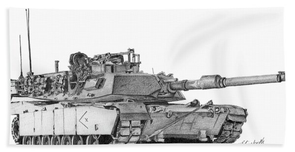 M1a1 D Company Xo Tank Hand Towel