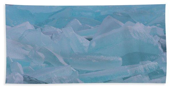 Mackinaw City Ice Formations 21618010 Bath Towel
