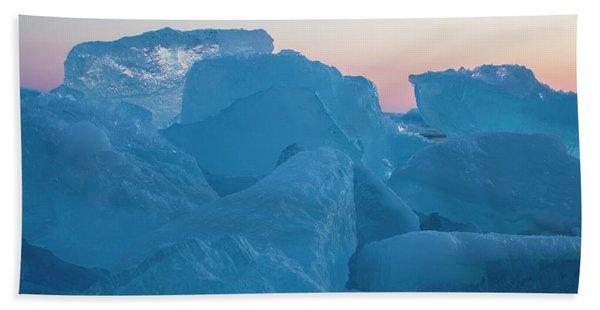 Mackinaw City Ice Formations 2161804 Bath Towel