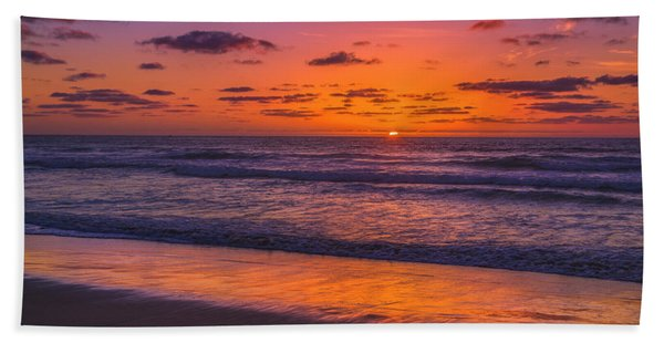 Magical Sunset Bath Towel