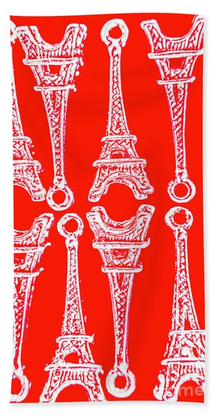 Match Made In Paris Hand Towel