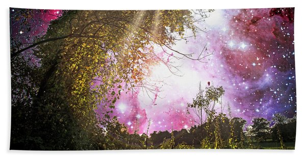 Meadow Starry Night Hand Towel