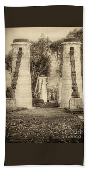 Medieval Bridge Bath Towel