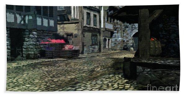Medieval Times Bath Towel