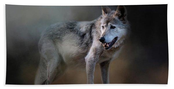 Mexican Wolf Bath Towel