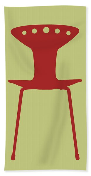 Mid Century Chair I Hand Towel