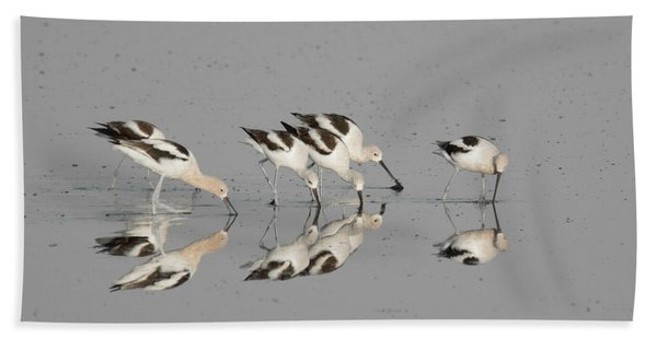 Mirror Image Bath Towel