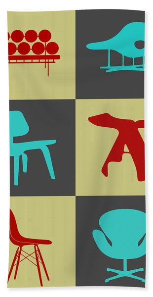 Modern Chair Collection II Hand Towel