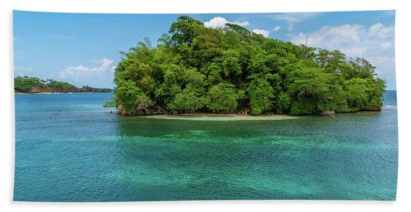 Monkey Island In Portland Jamaica Bath Towel
