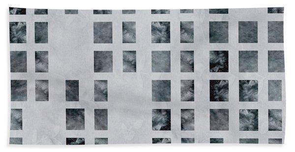Moody Blues Data Pattern Bath Towel