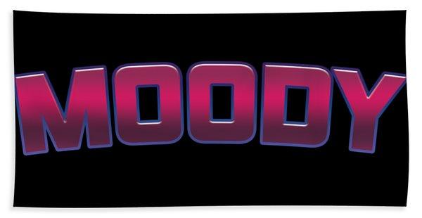 Moody #moody Hand Towel