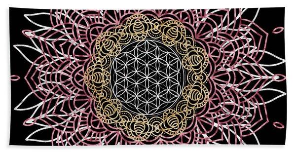 Moon Mandala Hand Towel