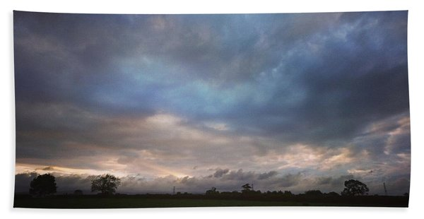 Morning Clouds Hand Towel