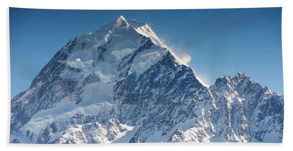 Mount Cook Aoraki Summit Ridge Hand Towel