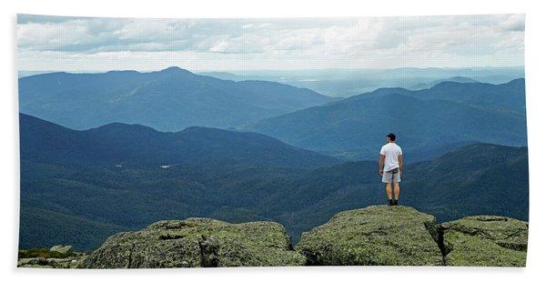 Mountain Top Hand Towel