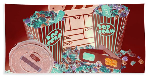 Movie Makers Inc. Bath Towel