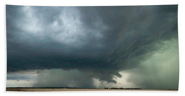 Nebraska Storm Bath Towel