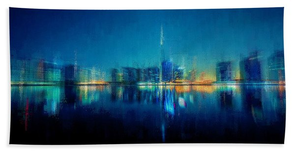 Night Of The City Hand Towel