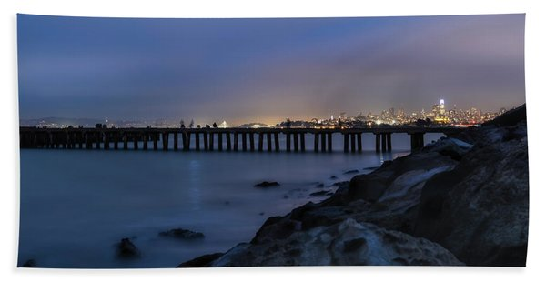 Night Pier- Hand Towel