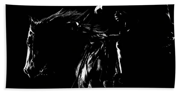 Night Riders Hand Towel