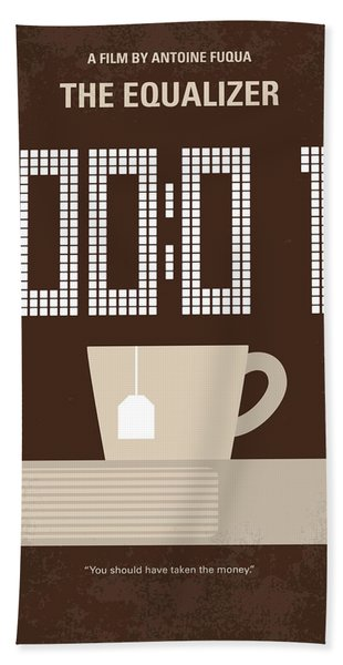 No973 My The Equalizer Minimal Movie Poster Hand Towel
