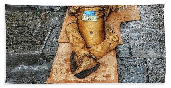 Nola Street Art Alive  Bath Towel