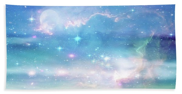 Oceans In The Heavens Bath Towel