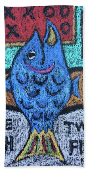 One Fish Two Fish Hand Towel