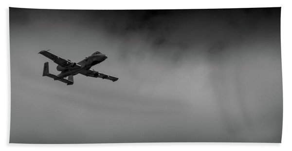 Out Of The Clouds - A-10c Thunderbolt Hand Towel
