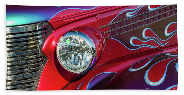 Painted Deuce Coupe Hand Towel