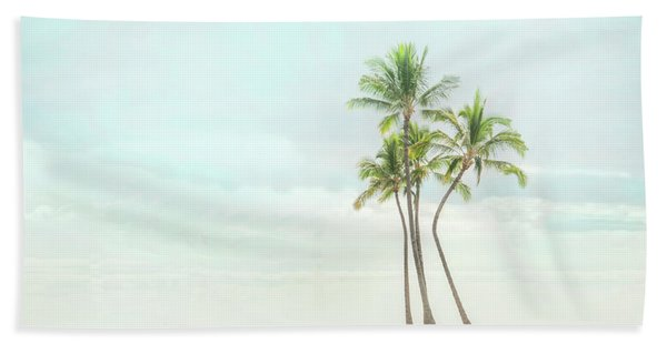 Palm Tree Cluster  Bath Towel