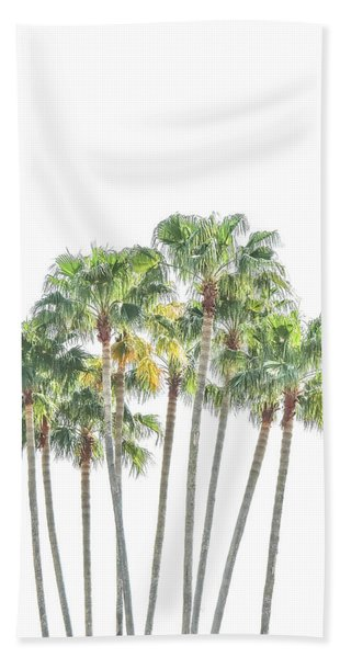 Palm Tree Grove Hand Towel