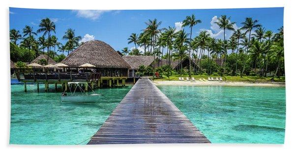 Rangiroa, Tuamotu - Paradise On Earth Bath Towel