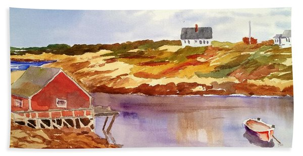 Peggy's Cove Bath Towel
