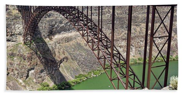 Perrine Bridge, Twin Falls, Idaho Bath Towel